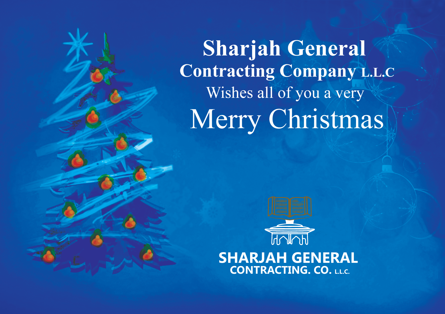 Sgccseason Greeting Merry Christmas 2014 Sharjah General