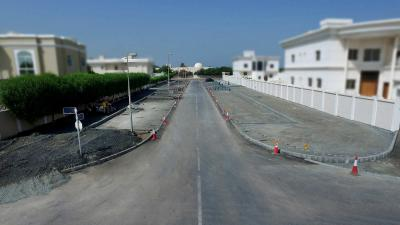 R-1052 - Construction of Footpath and Parking in Al Abar Area - Sharjah