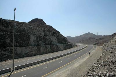 Sharjah Kalba Road Section 8