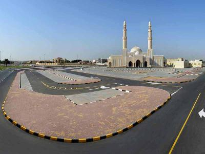 R-1049B - Roads and Parking for Al Fatah Al Mobeen Masjid in Al Qarayen (4) Area - Sharjah
