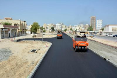 Internal Roads in Al Musalla Area